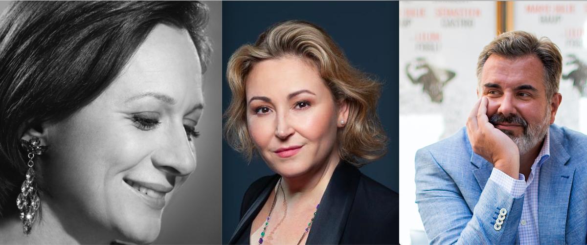 Delphine Haidan, Karine Deshayes et Jean-François Vinciguerra - la Grange aux Pianos