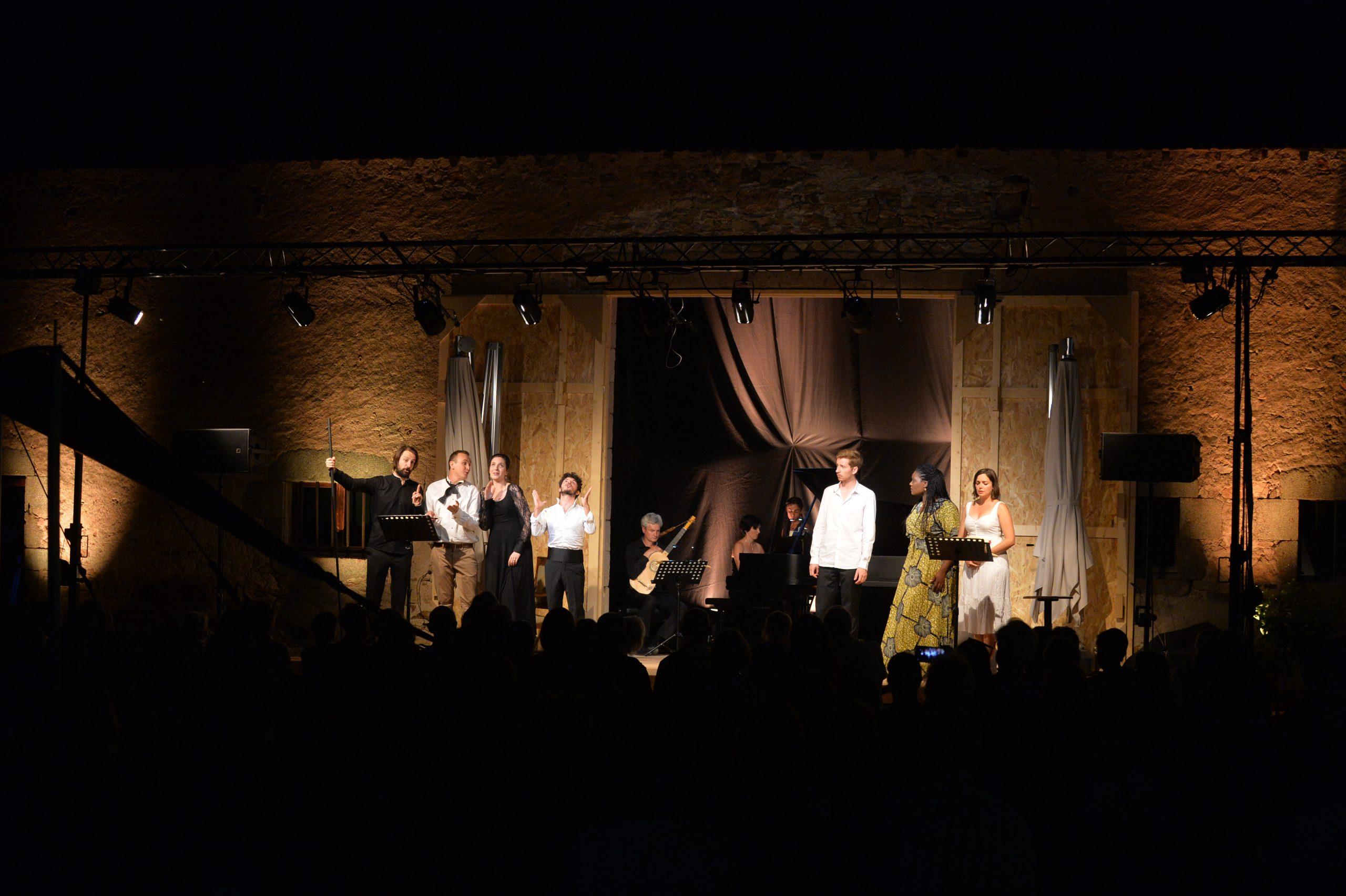 ©Yvan Bernaer - Les Noces de Figaro Mozart - Cie Opera Fuoco direction David Stern 8 août 2020