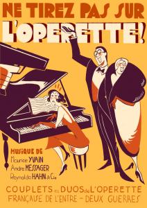 Ne tirez pas sur l'opérette ! ©Faustine Merle